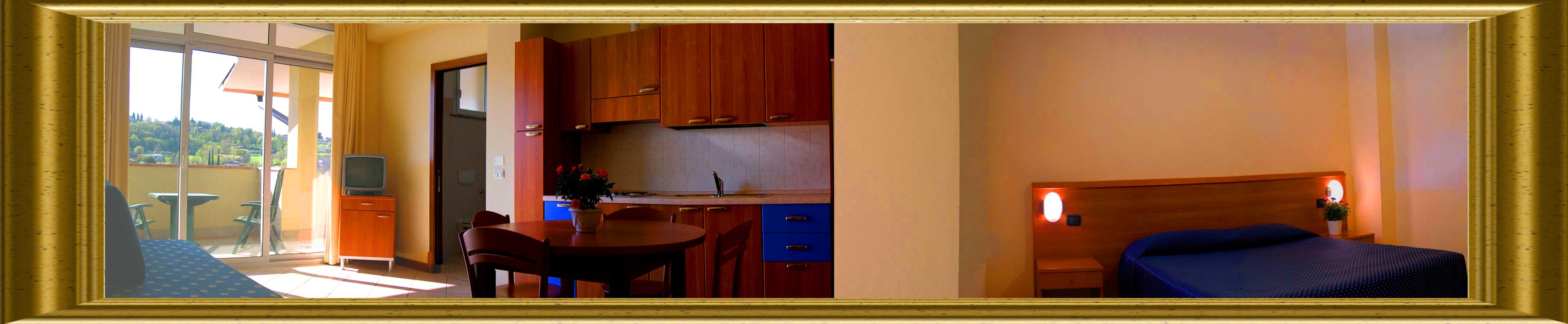 Familienzimmer Gardasee grosse Zimmer mit Klimaanlage