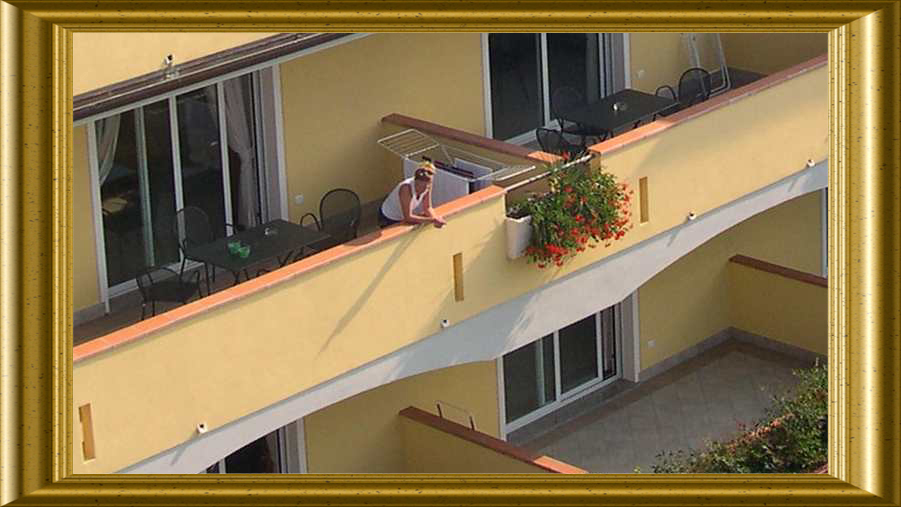 apartments on Lake Garda with balcony