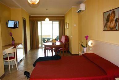Hotel 4 stars suite on garda lake