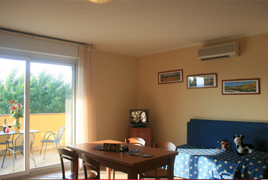 family rooms Manerba del Garda on Garda lake