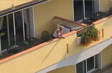 hotel rooms on Garda lake lake view