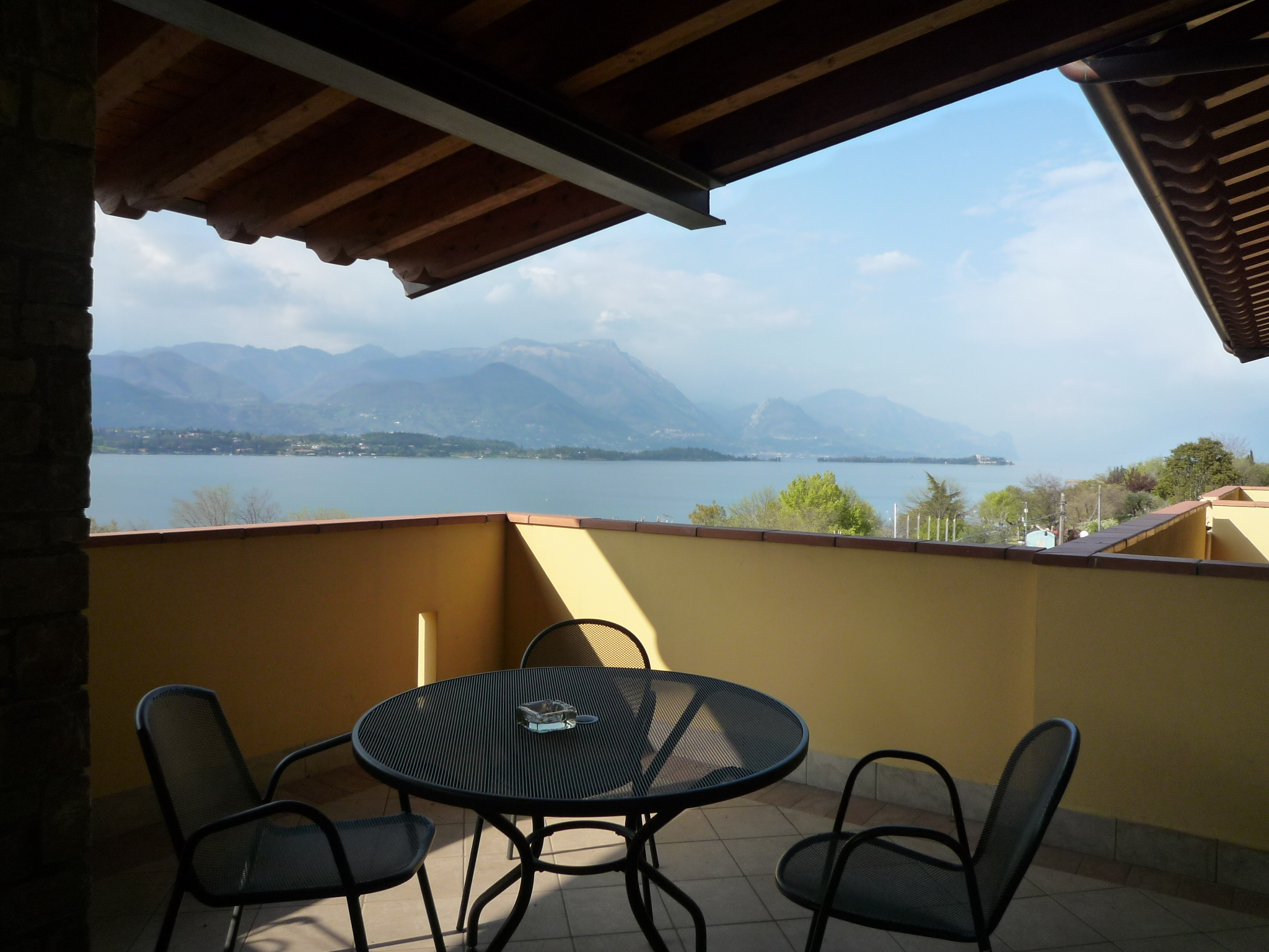 Hotel on Garda Lake Balcony